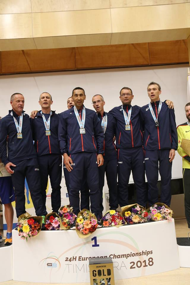 French Team winning IAU 24h 2018